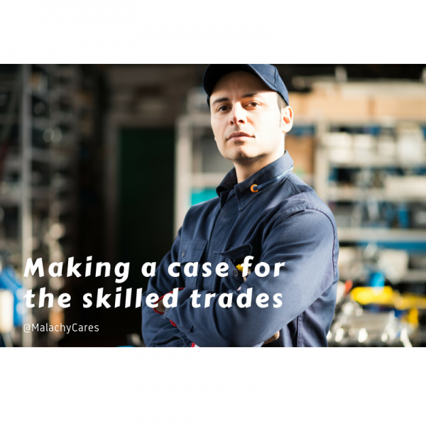 Making a case for the skilled trades