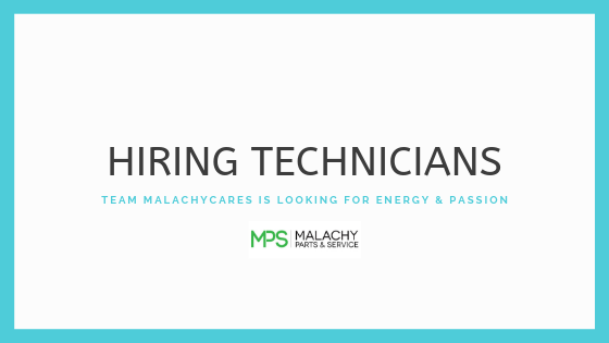 HIRING TECHNICIANS NOW!