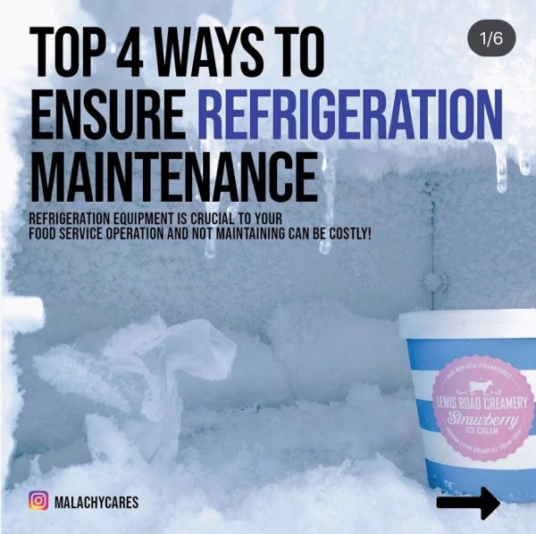 Top 4 Reasons YOU Need Your Refrigeration Equipment Maintained