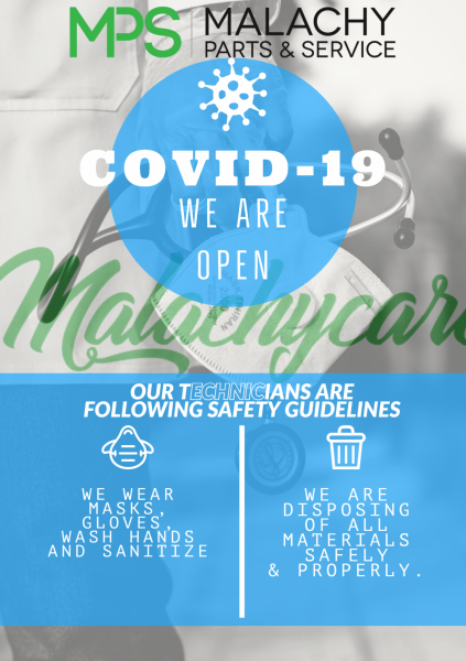 Open For Business During the COVID19 Pandemic #malachycares