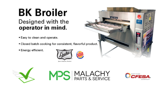 Duke Manufacturing Factory Authorized Service: Burger King Broilers & More